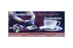 Geschenkbon Leonidas Geel - Bon Bon Giorno